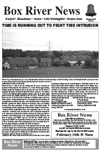 Boxford River News February 2010
