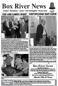 Boxford River News March 2010