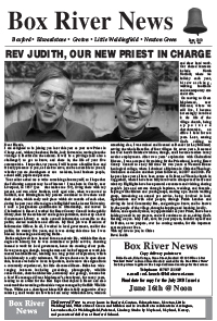 Boxford River News June 2010