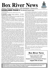 Boxford River News August 2017