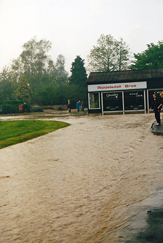 Flooding in The Causeway May 2000