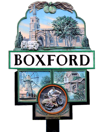 Boxford Village Sign