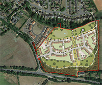 Catesby wins permission to build 64 houses off Sand Hill despite vigorous objections from the village