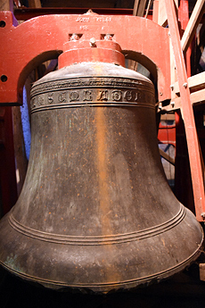 The bells of St. Mary's Church, Boxford
