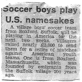 Soccer boys play U.S. namesakes