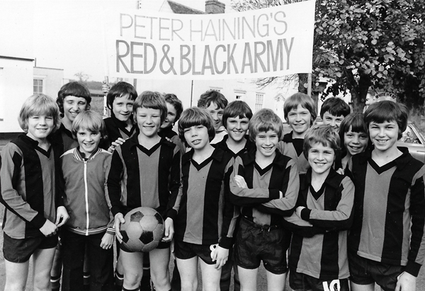 Boxford Youth Football Club 1979 - Peter Haining's Red & Black Army