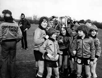 Boxford Youth Football Club 1979 With The League Cup