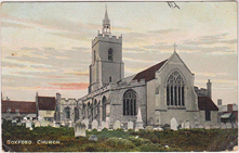 Boxford St. Mary's Church, c1908
