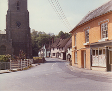 Church Street, Boxford late 1970s