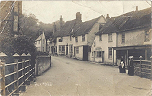 Church Street, Boxford c1905
