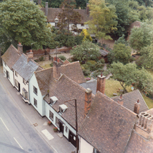 View of Church Street from the Church Tower,  late 1970s