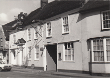 The Fleece, Boxford late 1970s