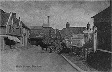 Broad Street, or 'High Street' Boxford c1914