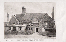 The White Hart Inn, Boxford c1904