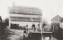 Boxford water mill, destroyed by fire in 1934