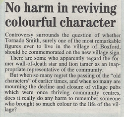 No harm in reviving colourful character