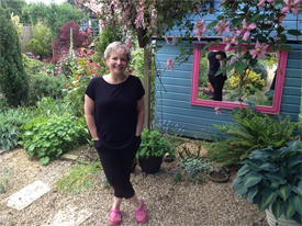 'I look after the garden but in tandem with all the bugs and beasties that are in it,' says Hazel Buchanan