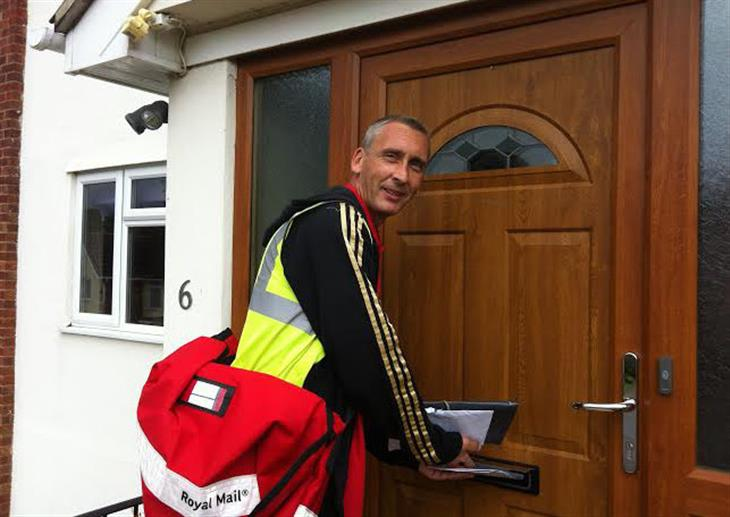 Boxford's Lovely Postie, Kevin