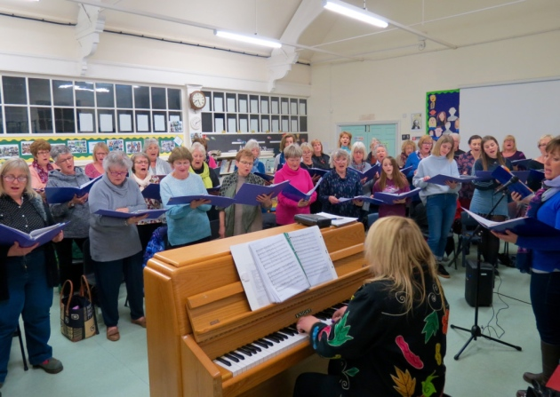 The choir has raised nearly ?20,000 for charity since it began in 2012 Picture: MICHAEL STEWARD