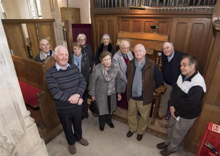 BOXFORD St Mary's Church are holding a concert to raise funds to restore their organ. Picture Mark Westley