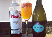 pimms and prosecco